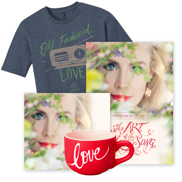 Gold Bundle: The Art of the Love Song (CD + DVD + Men's