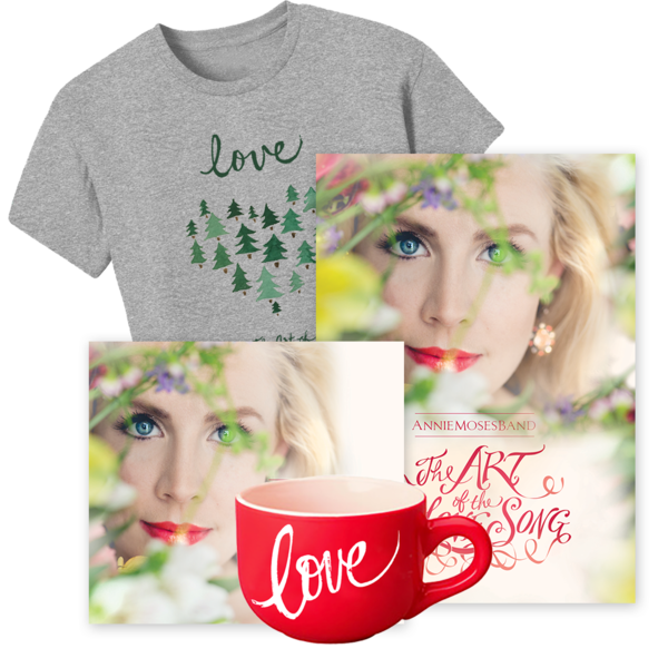 Gold Bundle: The Art of the Love Song (CD + DVD + Ladies' Tee - Evergreen Heart + Mug)