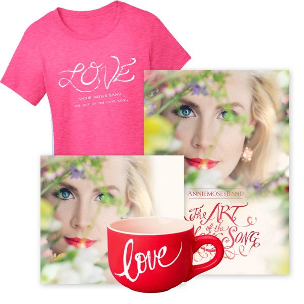 Gold Bundle: The Art of the Love Song (CD + DVD + Ladies'
