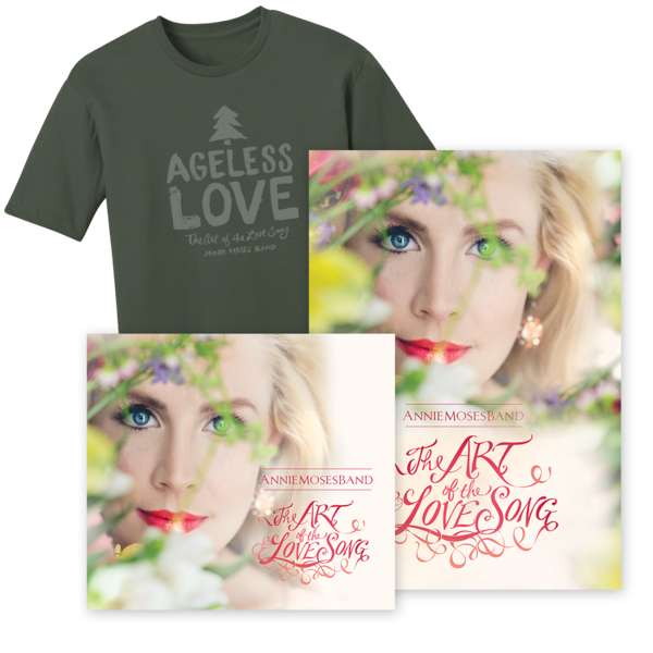 Silver Bundle: The Art of the Love Song (CD + DVD/BluRay + Men's Ageless Love Tee)