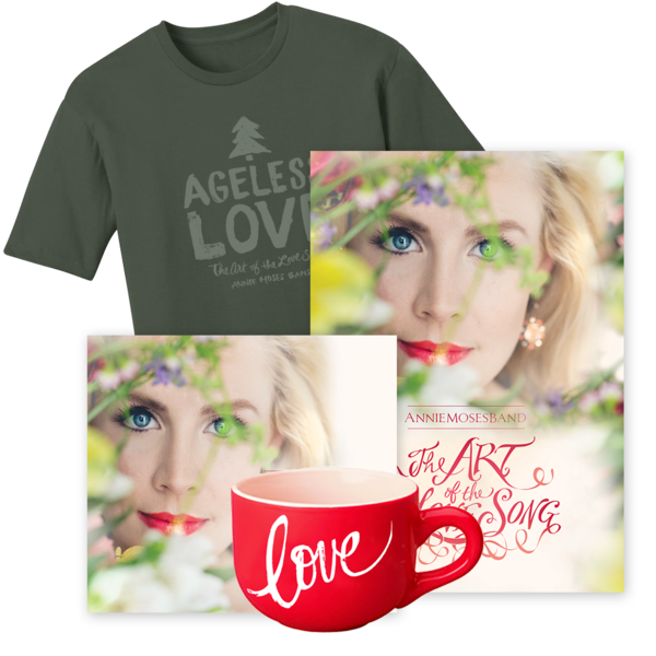 Gold Bundle: The Art of the Love Song (CD + DVD + Men's Ageless Love Tee + Mug)