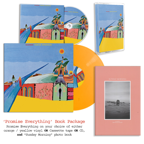 basement colourmeinkindness vinyl. Basement \u0027Promise Everything Book Package\u0027 Colourmeinkindness Vinyl