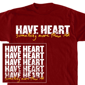 Have Heart 'Something More Than Ink' Backprint T-Shirt