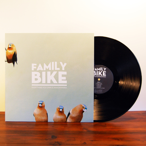 Family Bike  'Everything You Own Is Anagrammed'