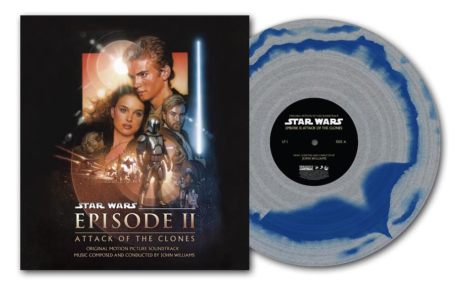 Star Wars Episode II: Attack Of The Clones (Original Motion Picture Soundtrack) 2xLP