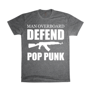 Dark Grey Defend T-Shirt