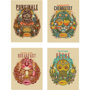 Dogfish Head Seasonal A2 Art Print Set