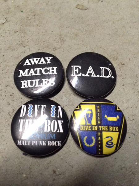 Dive in the Box Pin Set