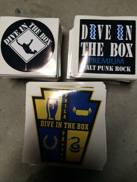 Dive in the Box Sticker Set
