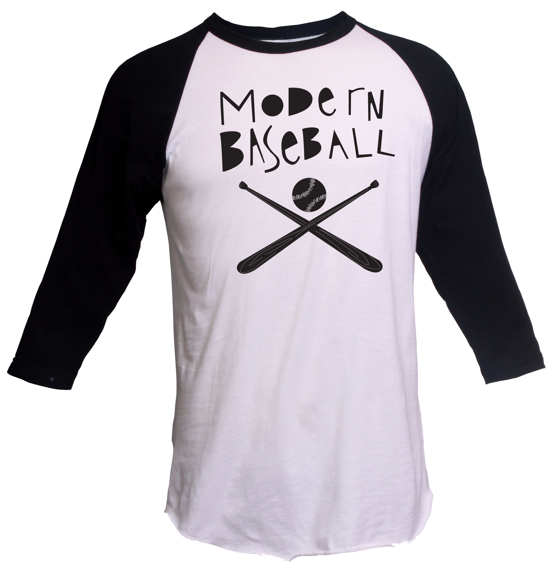 Black dog t shirt ebay - Baseball Bat 3 4 Sleeve Tee