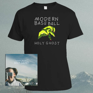 Modern Baseball - Holy Ghost LP / CD / Tape and Shirt Bundle PRE-ORDER