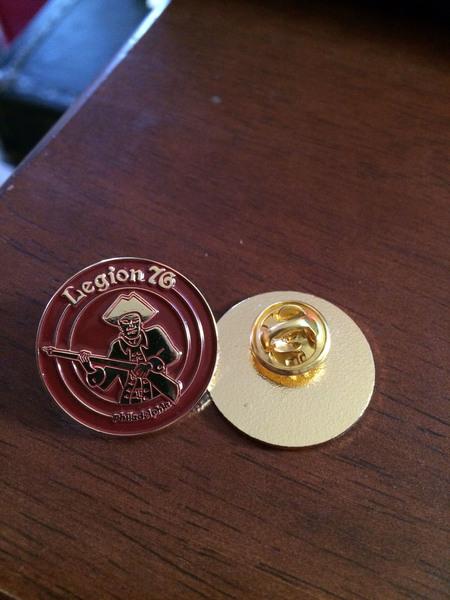 Legion 76 Enamel Pin