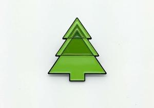 Tree logo enamel pin!