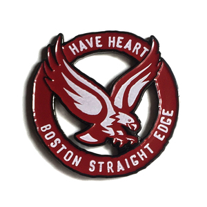 Have Heart 'Boston Straight Edge' Enamel Pin