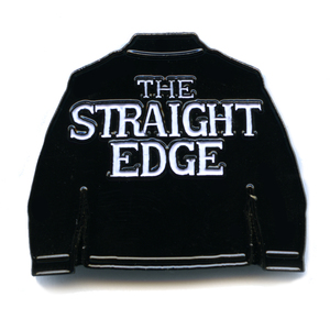 SSD 'The Straight Edge' Enamel Pin