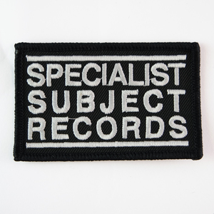 Specialist Subject Patch