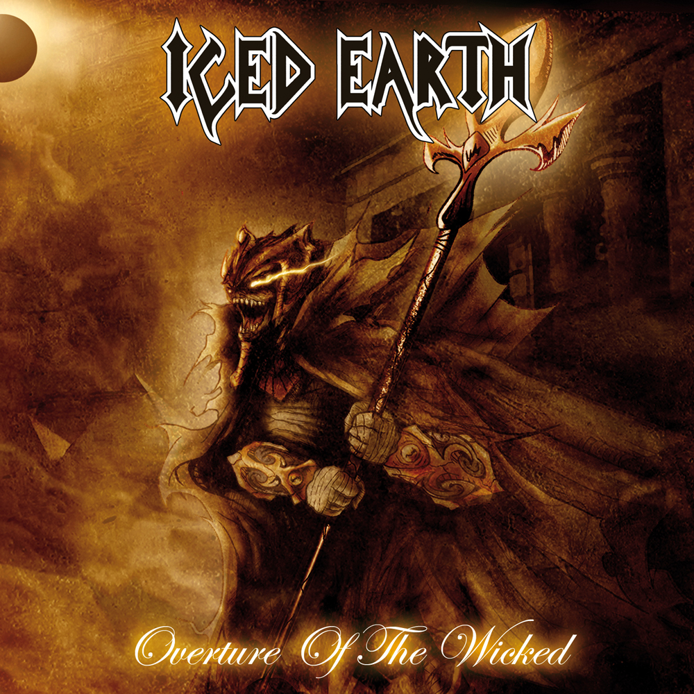 Iced Earth - Overture Of The Wicked (Single) - Steamhammer Shop