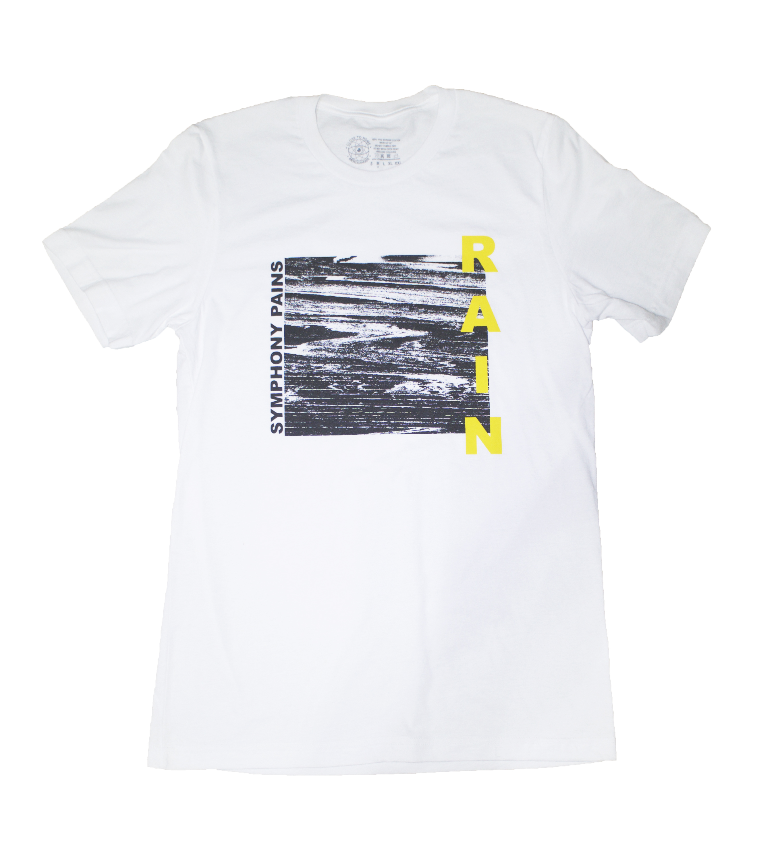 Rain - Symphony Pains Tee (Close To Home Merchandise No. 2)