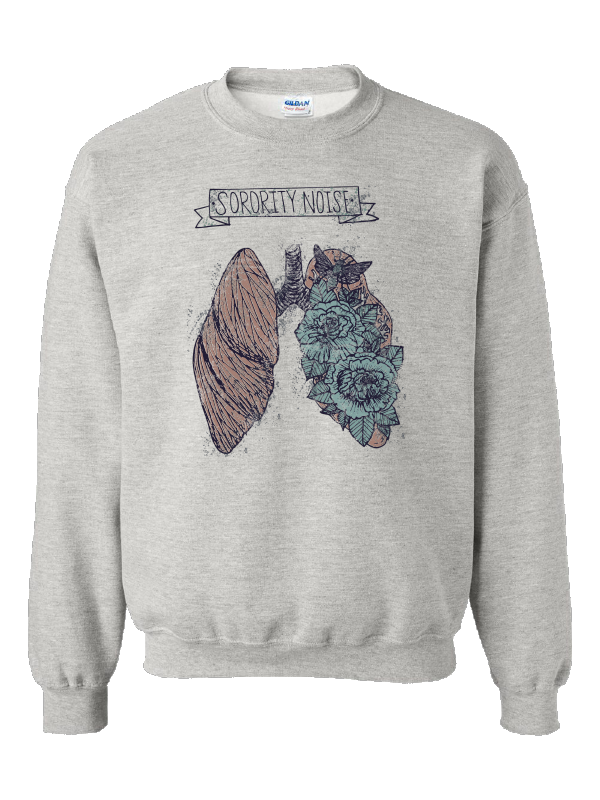 Lungs Crewneck Sweatshirt