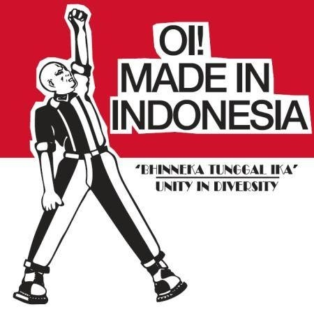 V/A Oi! made In Indonesia