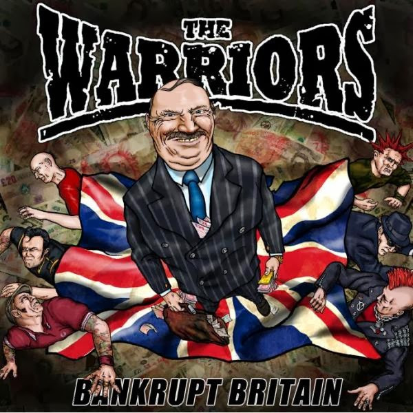 The Warriors / Halbstarke Jungs  - Split LP