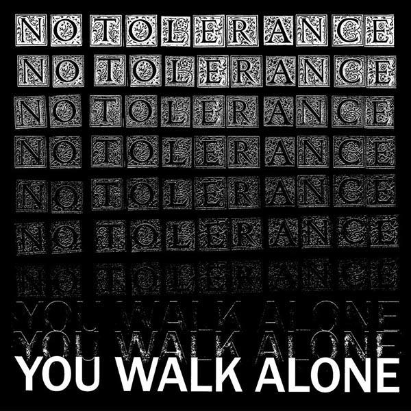 No Tolerance - You Walk Alone Cassette Tape
