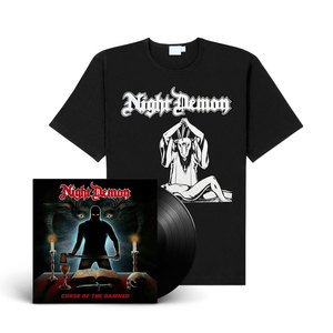 Night Demon - Curse Of The Damned (Vinyl+CD+shirt Bundle)