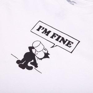 I'm Fine Tee - White