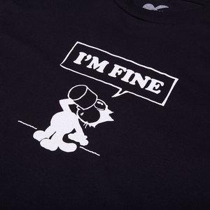 I'm Fine Tee - Black