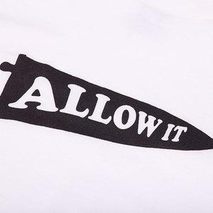 Allow It Tee - White