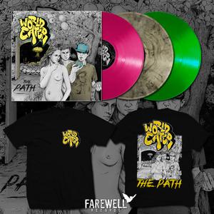WORLD EATER ´the path´ LP|CD Shirt Bundle