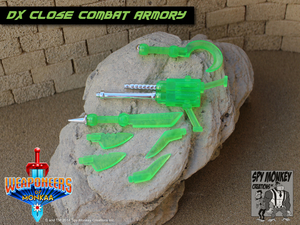 Weaponeers of Monkaa - DX Veridiohm Close Combat Armory
