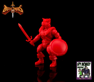 Battle Tribes Battle Builder Crimson - Reissue