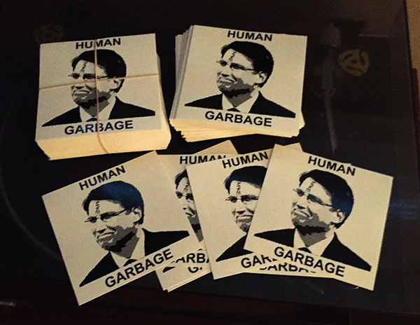 MAKE 'Human Garbage' Sticker