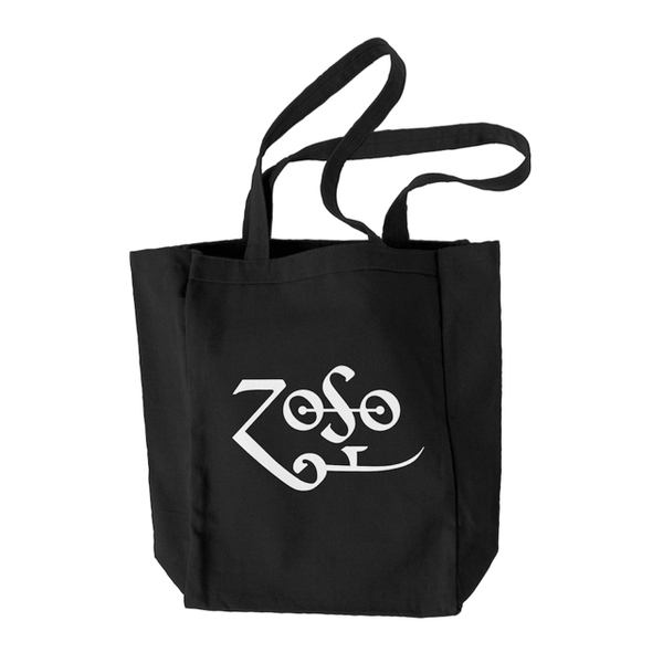 Black Zoso Tote Bag