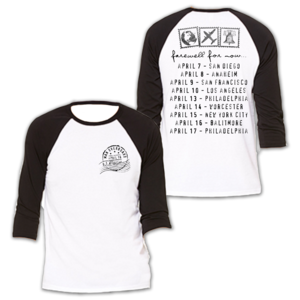 Farewell For Now - Tour Shirt