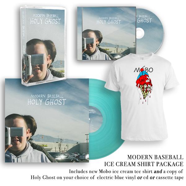 Modern Baseball - Holy Ghost Shirt Package