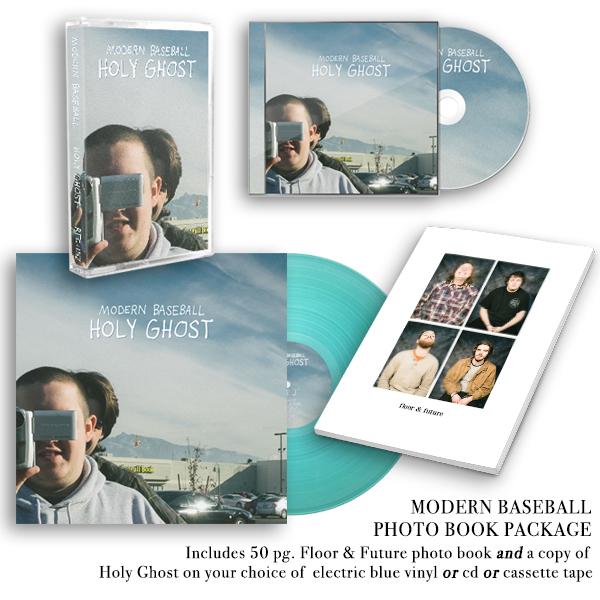 Modern Baseball - Holy Ghost Book Package