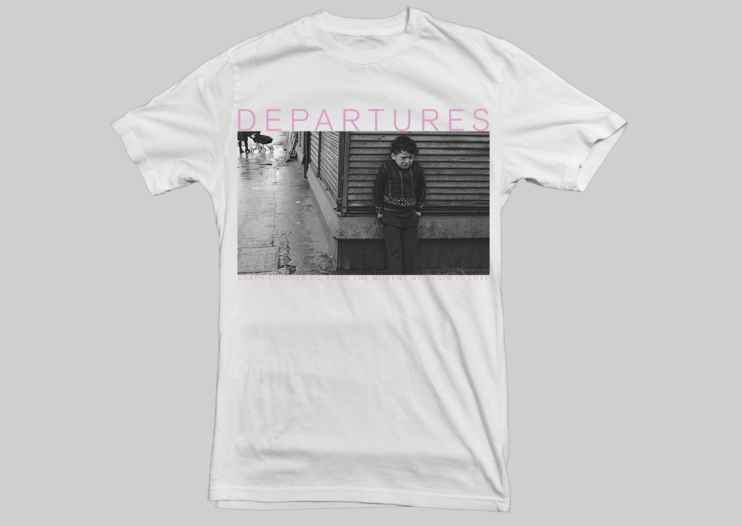 Departures - 'Death Touches Us...' shirt