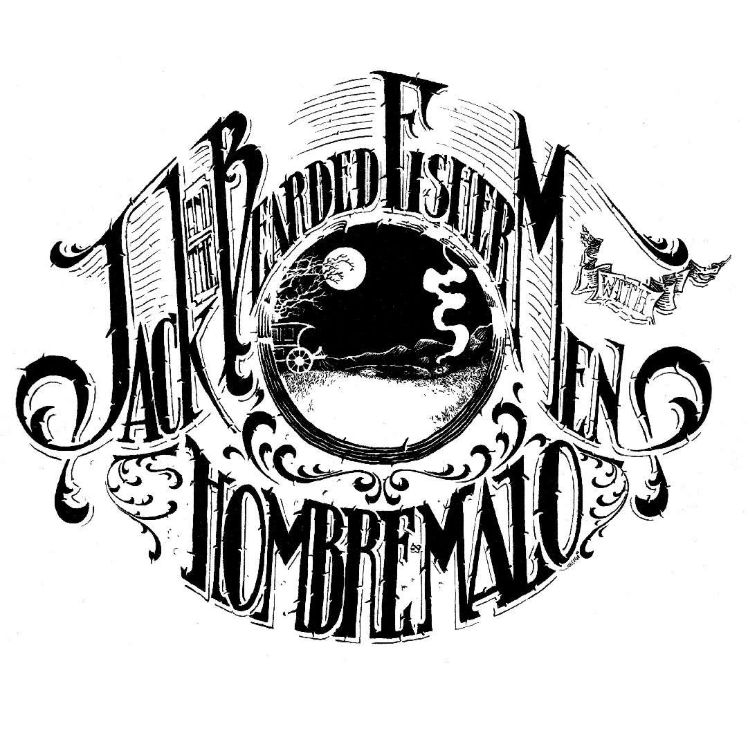 Hombre Malo - Split 7'' with Jack And The Bearded Fishermen