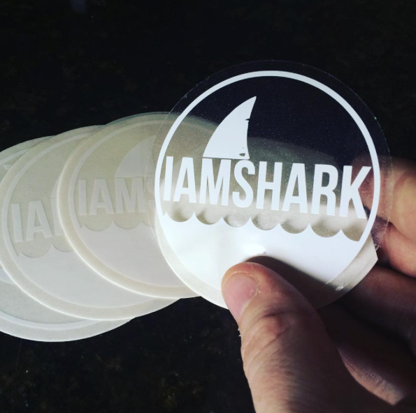 Clear Vinyl Car Decal