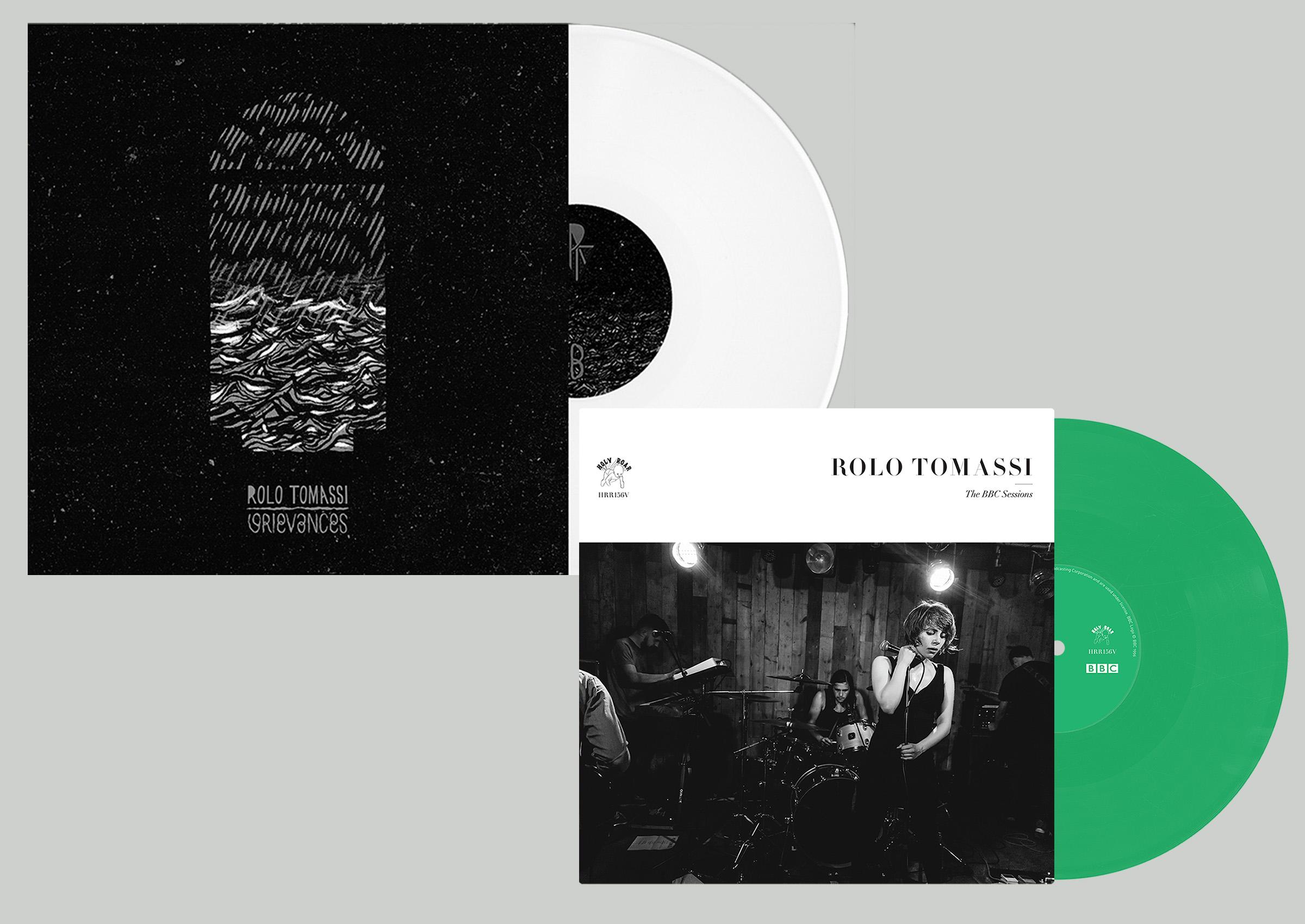Rolo Tomassi - BBC Sessions + Grievances vinyl bundle