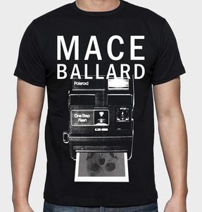 Mace Ballard - Polaroid t-shirt
