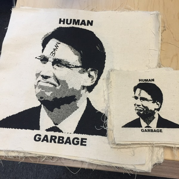 MAKE 'Human Garbage' patches
