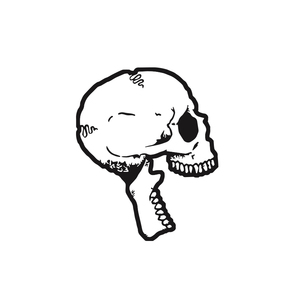 Bent Life 'Skull' Enamel Pin