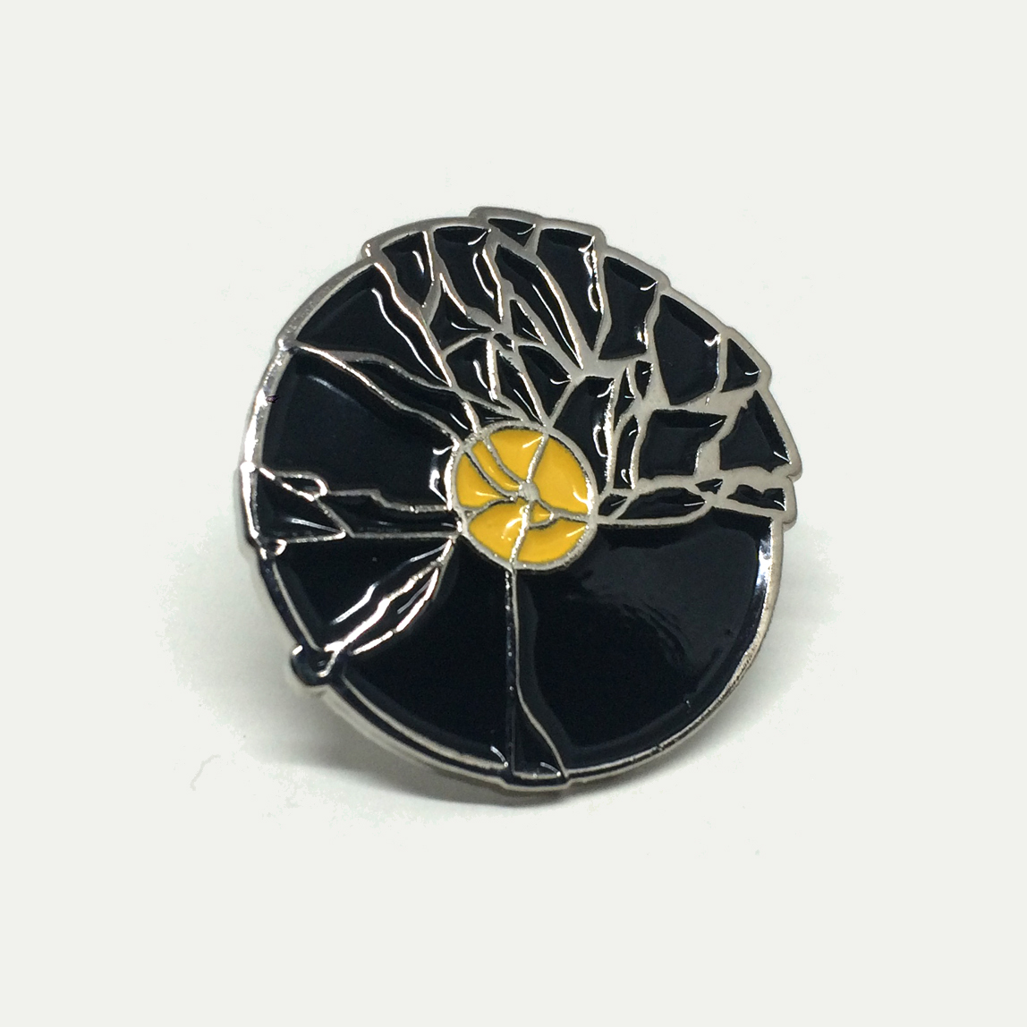 Broken Record Enamel Pin