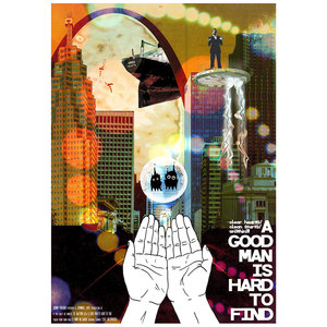 Johnny Foreigner - If You Can't Be Honest/A Good Man is Hard to Find - Dual Poster Single