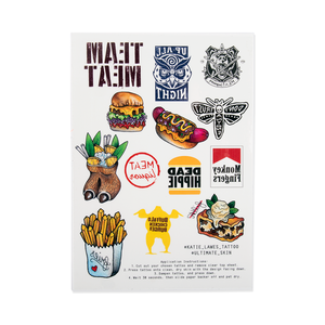 MEATliquor Tattoo Sheets
