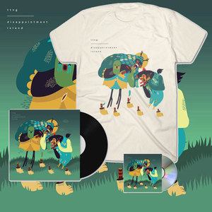 TTNG - Disappointment Island - CD/Vinyl + Cream T-Shirt