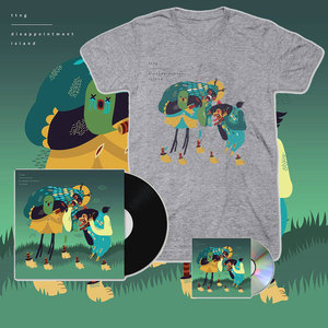 TTNG - Disappointment Island - CD/Vinyl + Grey T-Shirt